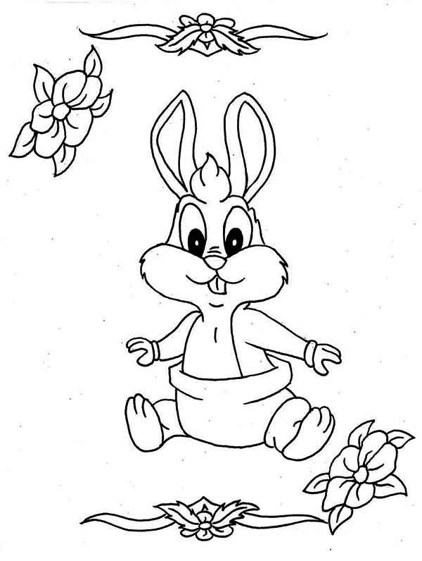 Diaper Coloring Pages
