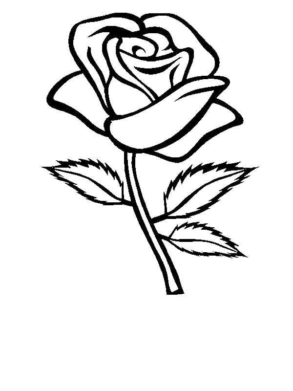 Flower Template For Coloring Flowers To Color Free