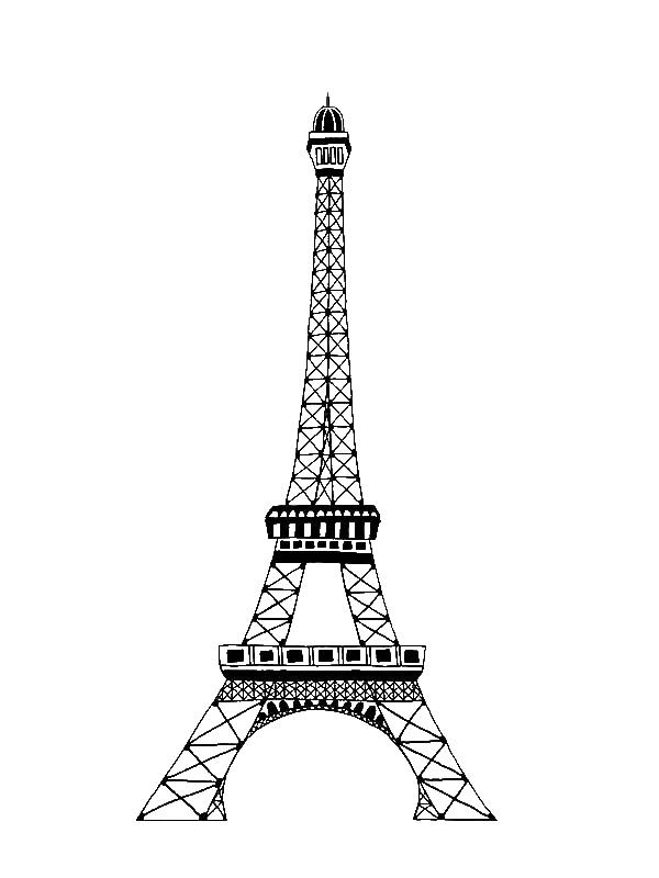 35 Eiffelturm Zum Ausdrucken - Besten Bilder von ausmalbilder