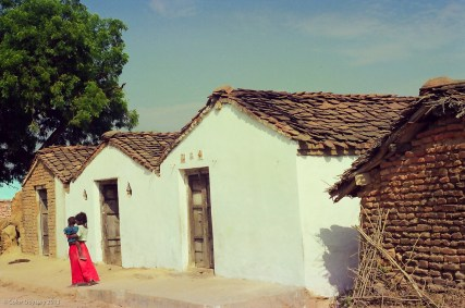 A village near Khajuraho