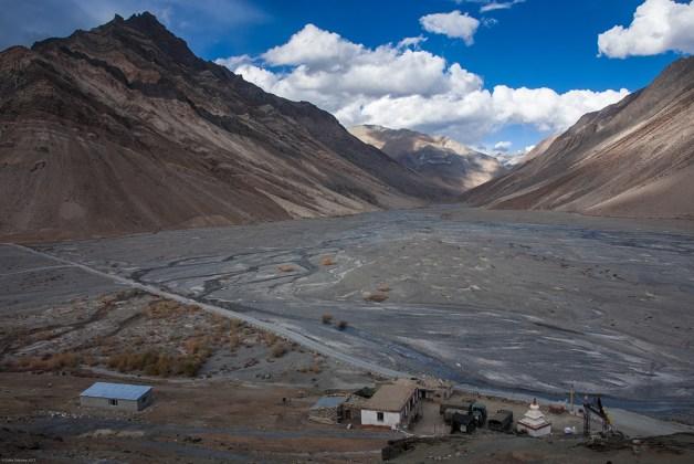View from Rangdum Monastery, Suru valley, Ladakh
