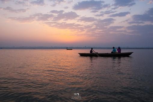 Serene, River Ganges, Varanasi.