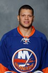 New York Islanders' Kyle Okposo, the 7th player picked in 2006 draft.