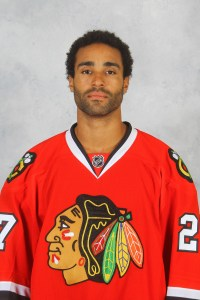 Johnny Oduya hopes to represent Sweden in Sochi.