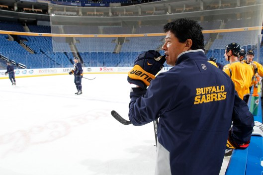 Ted Nolan's back for second stint with Sabres. (Bill Wippert, Buffalo Sabres)