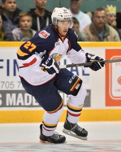 Barrie Colts' Cordell James ranks 126th on NHL draft list. Barrie Colts (Terry Wilson Photography)