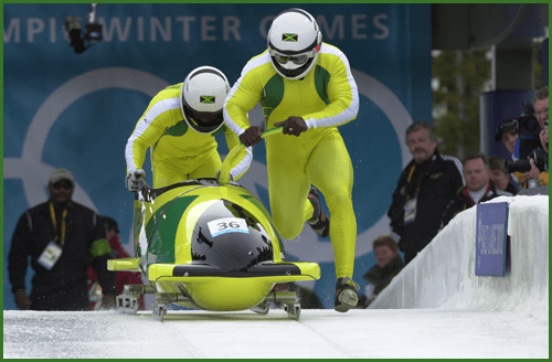 Who needs Bolt? Jamaica's back on the bobsled track.