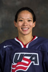 U.S. hockey player Julie Chu ends Winter Olympics on high note.