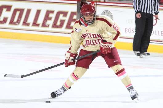 Boston College's Kaliya Johnson (Photo/John Quackenbos).
