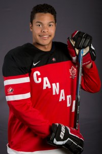 Capitals draftee Madison Bowey (Matthew Murnaghan/Hockey Canada Images).