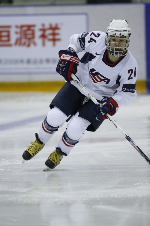 Koizumi represented the U.S. at the 2008 IIHF World Women's Championship in China.