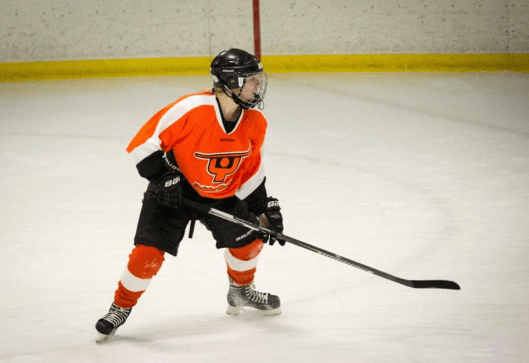 Snider Hockey's Ava Olsen loves to play hockey and hopes to cover the game someday as a journalist.