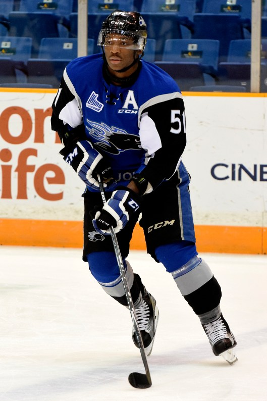 The Tampa Bay Lightning went for toughness when it drafted Bokondji Imama in 2015.
