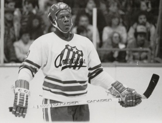 Forward Val James, who became the NHL's first U.S.-born black player when he joined the Buffalo Sabres in 1981-82, said John Brophy treated him like a son.