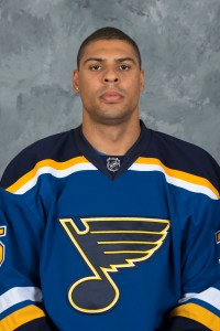 Ryan Reaves, F, St. Louis Blues