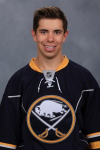Evan Rodrigues, F, Buffalo Sabres, free agent signee 2015-16.