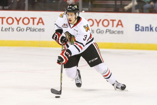 Portland Winterhawks defenseman Caleb Jones is fifth on his team in scoring (Photo/Dayna Fjord/Portland Winterhawks).