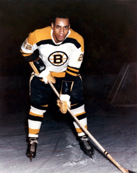 Willie ORee Made History When He Entered The NHL With Boston Bruins In 1958