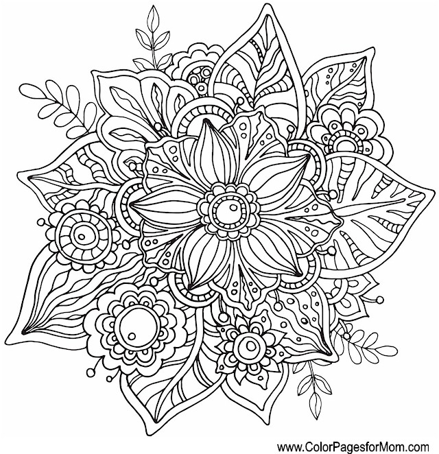 Whimsical Coloring Page 42