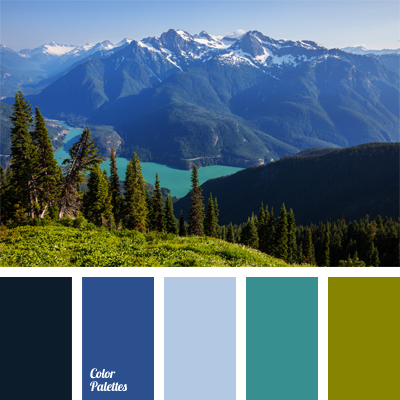 mountain lake color  Color Palette Ideas