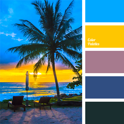 color palette for Hawaiian party  Color Palette Ideas