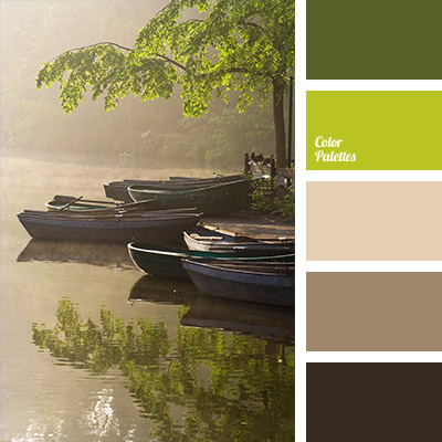 dark green and dark brown  Color Palette Ideas