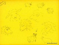 sheep sketch1001