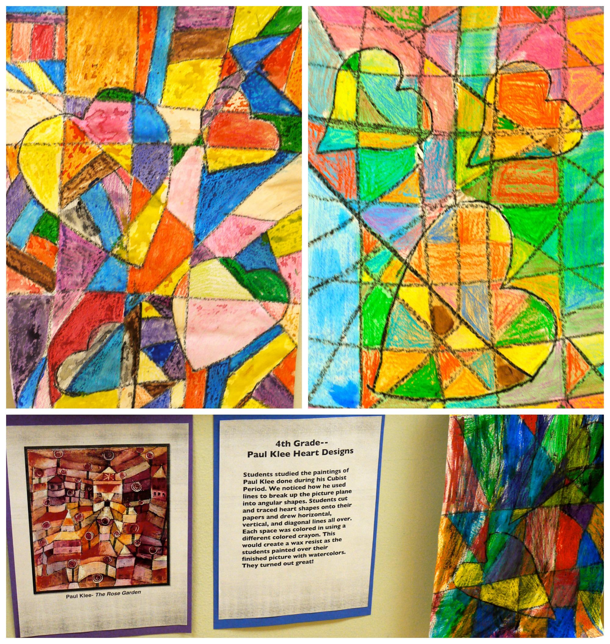 Adventures Of An Art Teacher Kleeinspired Geometric Shape Fish