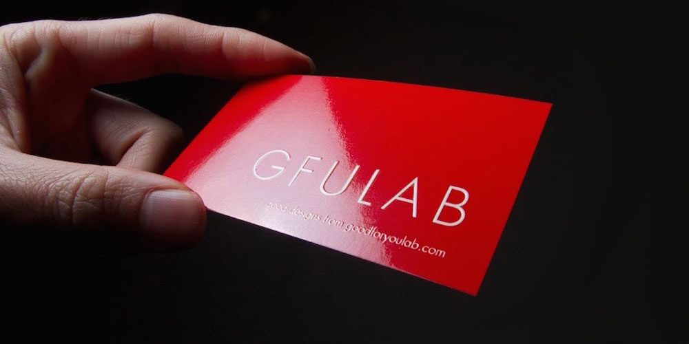 gloss laminated cards  color track printing center