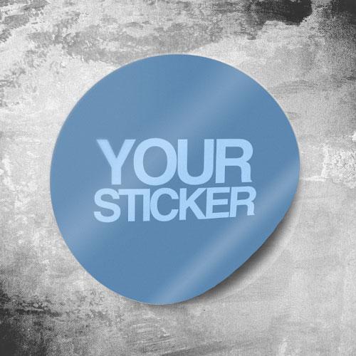 PVC Round Sticker Printing Dubai