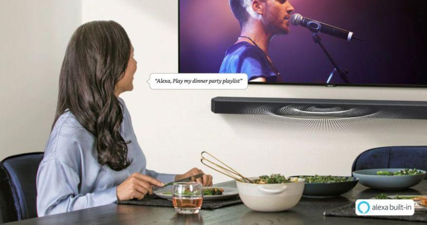 Alexa Samsung HW-Q950T