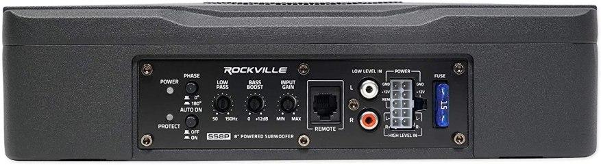 Rockville SS8P Back Side