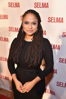"SELMA, AL - JANUARY 18: EDITORIAL USE ONLY Director Ava DuVernay attends a special screening of ""Selma,"" presented by Paramount Pictures on January 18, 2015 in Selma, Alabama. (Photo by Paras Griffin/Getty Images for Paramount Pictures) *** Local Caption *** Ava DuVernay"