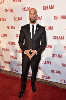 SELMA, AL - JANUARY 18: EDITORIAL USE ONLY Common attends on January 18, 2015 in Selma, Alabama. (Photo by Paras Griffin/Getty Images for Paramount Pictures) *** Local Caption *** Common
