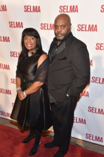 "SELMA, AL - JANUARY 18: EDITORIAL USE ONLY Congresswoman Terri Sewell and guest attend a special screening of ""Selma,"" presented by Paramount Pictures on January 18, 2015 in Selma, Alabama. (Photo by Paras Griffin/Getty Images for Paramount Pictures) *** Local Caption *** Terri Sewell"