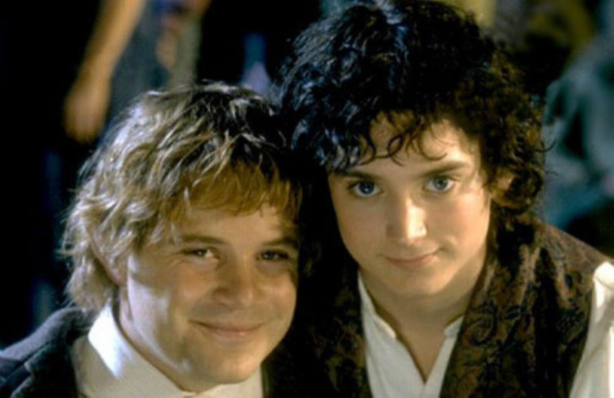 Image result for sam and frodo