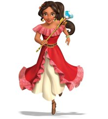 "ELENA OF AVALOR - ""Elena of Avalor"" is an animated series that follows the story of Elena, a brave and adventurous teenager who saves her kingdom from an evil sorceress and must now learn to rule as crown princess until she is old enough to be queen. The series premieres this summer on Disney Channel. (Disney Channel) ELENA"