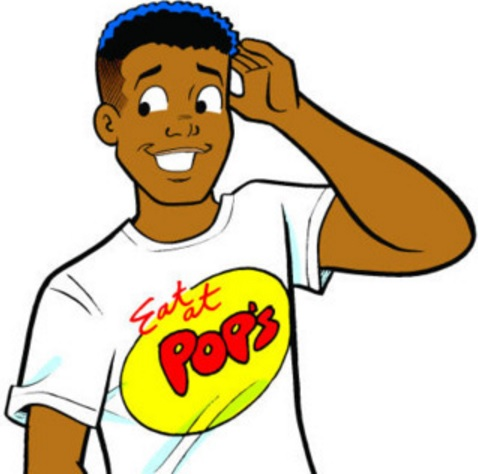Chuck Clayton, as drawn by Archie Comics artist/writer Dan Parent.
