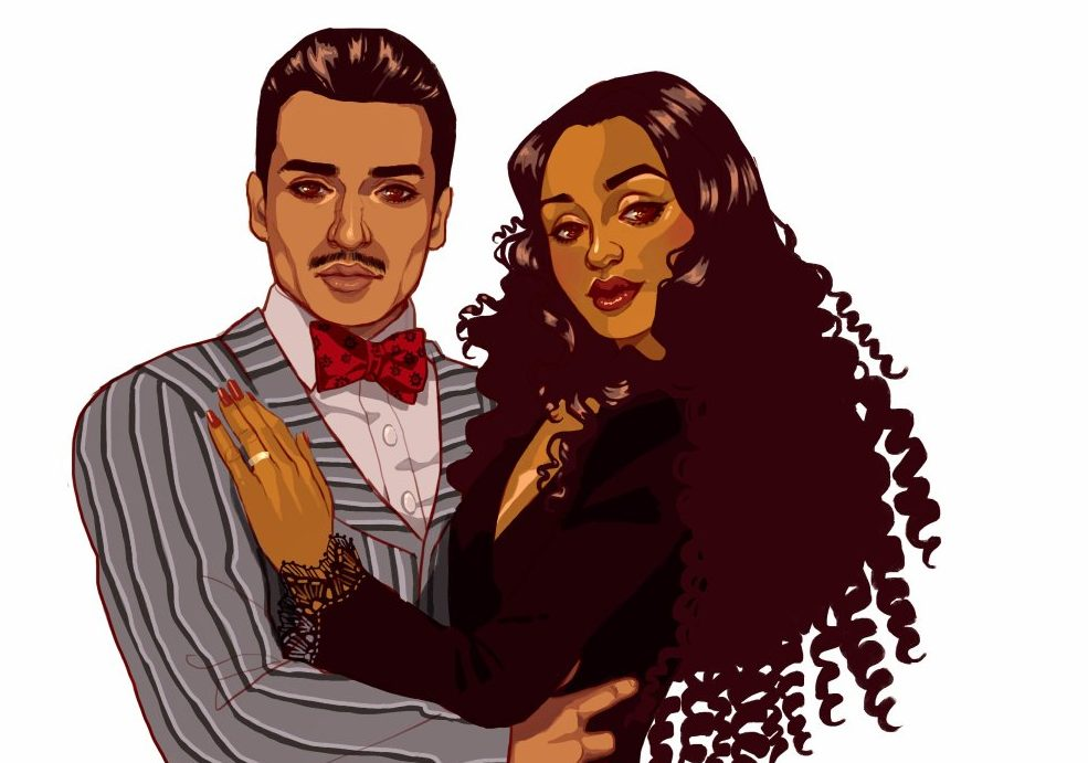 Oscar Isaac and Ruth Negga are the Addams Family we need right now