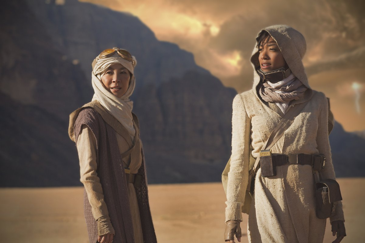 "Women of color are finally in charge in ""Star Trek: Discovery"""
