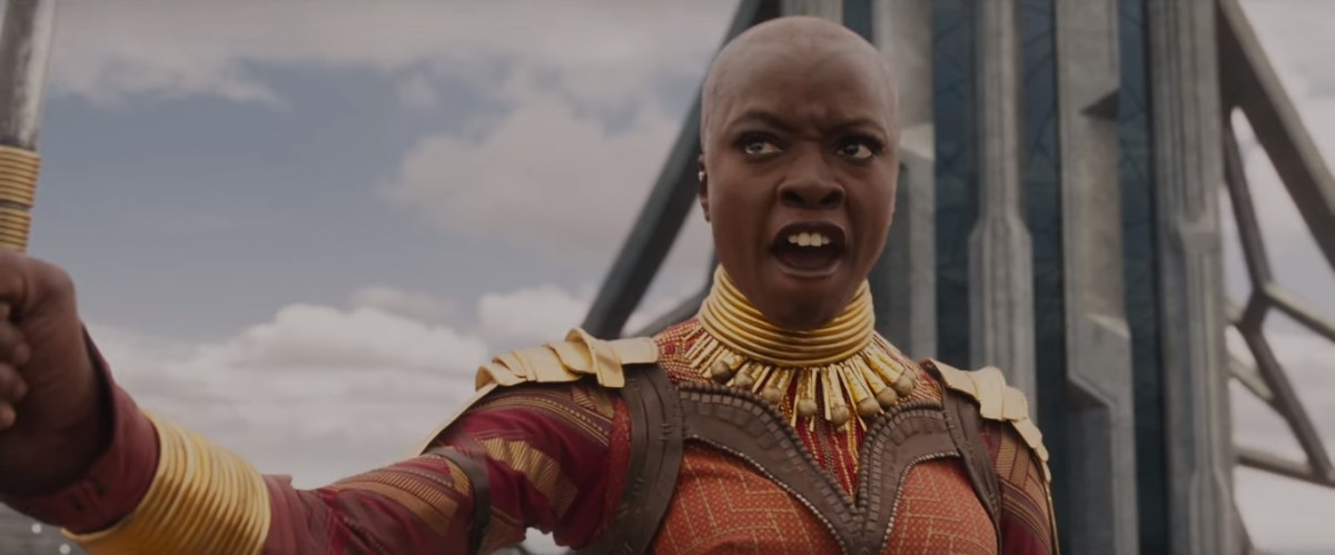 "How ""Black Panther"" honors the feminine through Pantone and kente cloth"