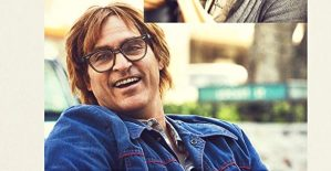 """Joaquin Phoenix in """"Don't Worry, He Won't Get Far on Foot."""""""
