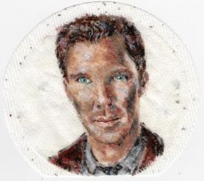 Fan art of Benedict Cumberbatch
