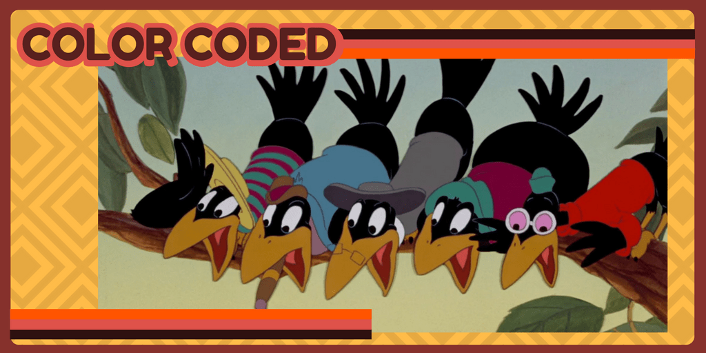 "Color Coded: Those crows from ""Dumbo"""