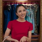 "Photo Credit: Sanja Bucko Caption: CONSTANCE WU as Rachel in Warner Bros. Pictures' and SK Global Entertainment's and Starlight Culture's contemporary romantic comedy ""CRAZY RICH ASIANS,"" a Warner Bros. Pictures release."