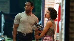 Atticus (Jonathan Majors) and Leticia (Jurnee Smollett) in Lovecraft Country. (Photo credit: HBO)