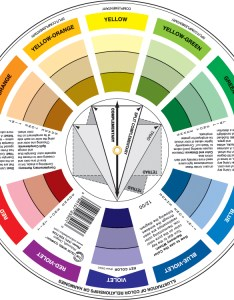 Pocket color wheel also images the company rh colorwheelco