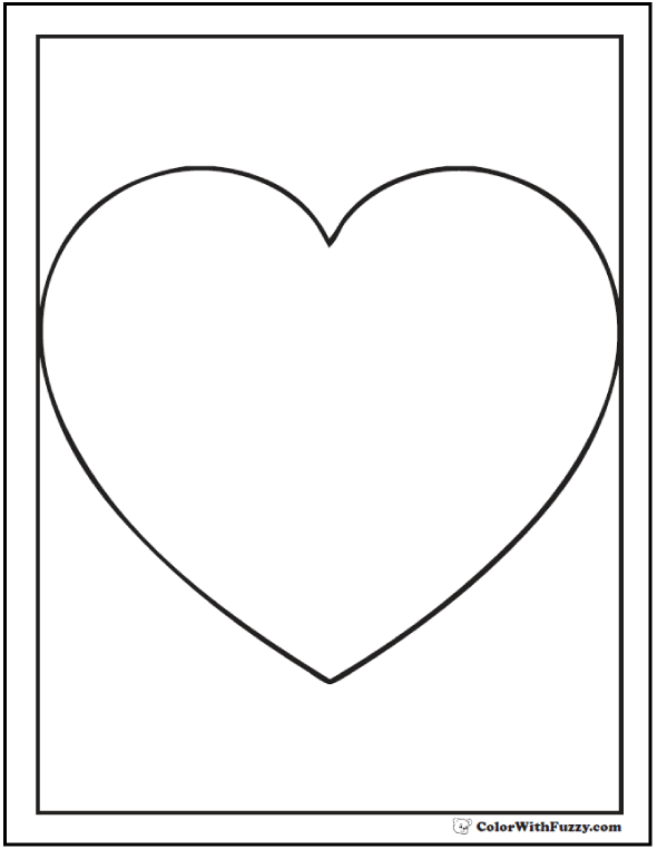 Shape Coloring Pages: Customize And Print