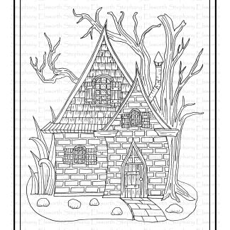 Brick and Shingle Fairy House