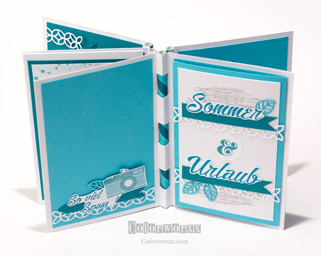 Urlaubsalbum Scrapbook Stampin Up